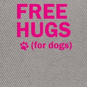 Free hugs for dogs - Snapback Cap
