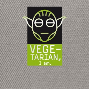 vegetarian green yoda yedi challenging fun movie star luk - Snapback Cap