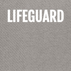 Lifeguard template - Snapback Cap