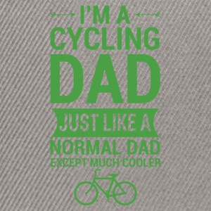 For the father who enjoys cycling, bicycle - Snapback Cap