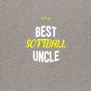 Verontruste - BESTE SOFTBALL UNCLE - Snapback cap