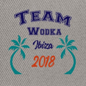 TEAM Wodka Ibiza Party Gruppen Shirt 2018 - Snapback Cap