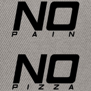 No pain no pizza - Snapback Cap