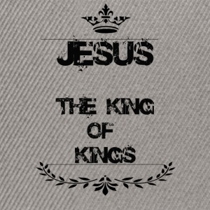 JESUS THE KING OF KINGS - Snapback Cap
