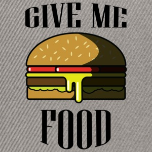 Give me FOOD - Snapback Cap