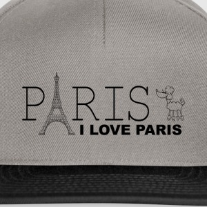 I LOVE PARIS - Snapback Cap