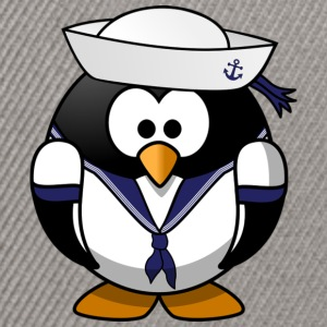 Penguin sailor - Snapback Cap