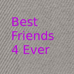 Best friends for ever - Snapback Cap