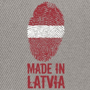 Made in Latvia / Gemacht in Lettland Latvija - Snapback Cap
