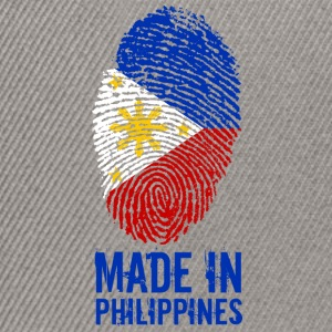 Made In Philippines / Philippines / Pilipinas - Casquette snapback
