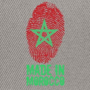 Made in Morocco / Gemacht in Marokko المغرب - Snapback Cap