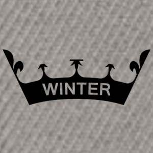 winter_crown - Czapka typu snapback
