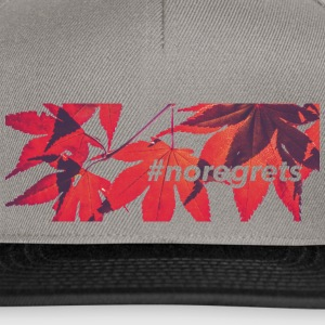 #NOREGRETS - Casquette snapback