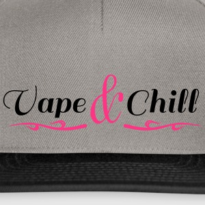 Vape and Chill - Casquette snapback