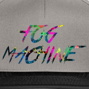 rainbow FOG MACHINE - Snapback Cap