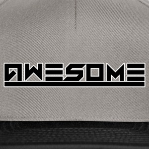 Awesome (Black) - Snapback Cap