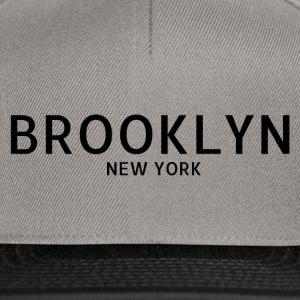Brooklyn New York - Snapback Cap