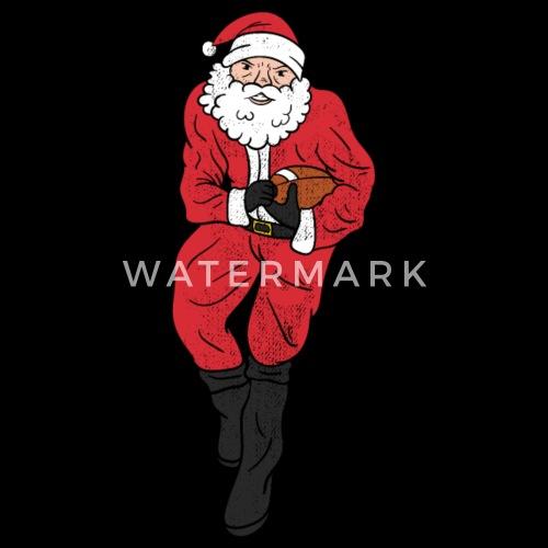 0aa90bf177fe8 Diseño. Diseño. delante. Mercado De Navidad Gorras y gorros - Regalo de  salto de fútbol americano de Papá Noel