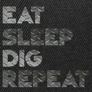 Eat Sleep Cri Repeat - Casquette snapback