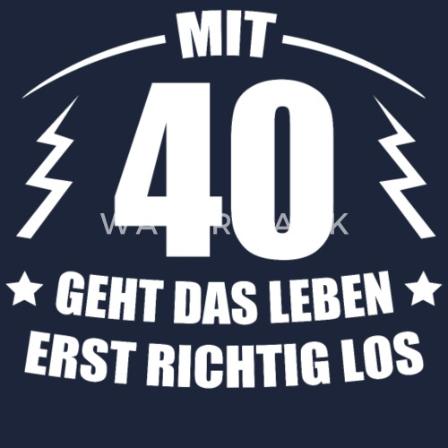 40 Geburtstag Geschenkidee Spruch Lustig Witzig Snapback Cap