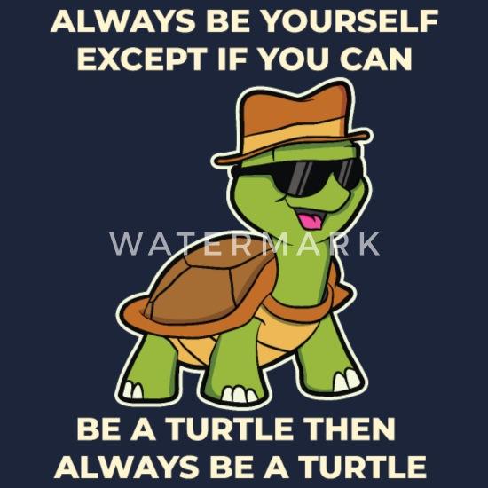 Lustig Schildkröte Sprüche Turtle Tiere Geschenk Snapback Cap