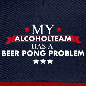 Beer Pong Alcohol Team - Snapback Cap