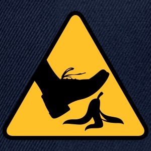 Risk Of Slipping With A Banana - Snapback Cap