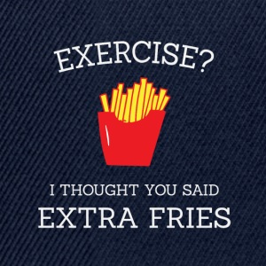 Extra fries wit - Snapback cap