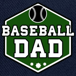 Baseball Dad - Snapbackkeps