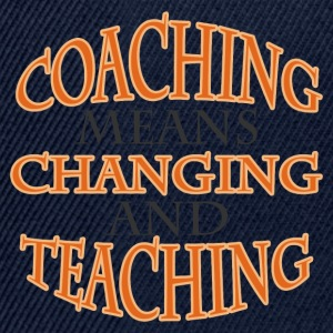 Coach / Coach: Coaching Means Changing And - Snapback Cap