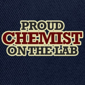 Chemist / Chemistry: Proud Chemist On The Lab - Snapback Cap