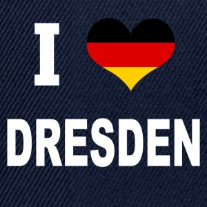 I Love Germany DRESDEN - Snapback Cap