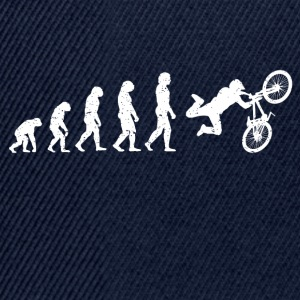 Evolution Bike Stunt Bike cool shirt - Snapback Cap