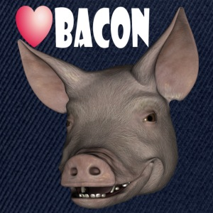 Love bacon - Snapback-caps
