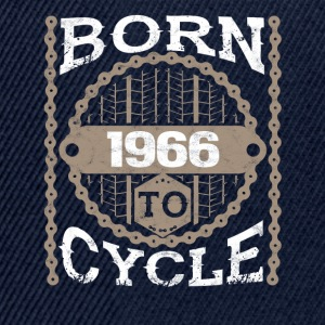 Born to cycle maltainbike bicycle 1966 - Snapback Cap