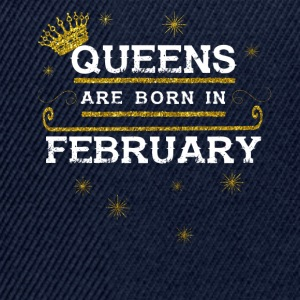 Queensborn FEBRUARY - Snapback Cap