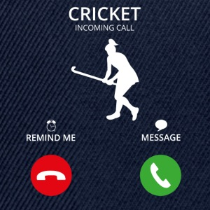 Call mobile call cricket cricket thorball - Snapback Cap