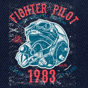 1983 Retro Fight Pilot motiivi. - Snapback Cap
