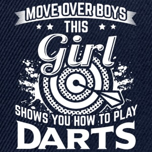 DART MOVEOVER HOW TO PLAY DARTS - Snapback Cap
