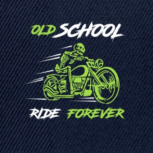 Old school ride forever - Snapback Cap