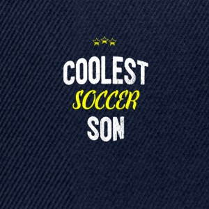 Distressed - COOLEST SON SOCCER - Casquette snapback