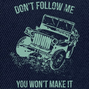 Follow Me Jeep Car - Snapback Cap