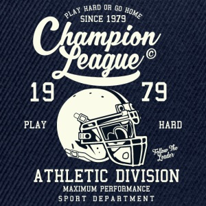 Champion League Athletic Division Baseball-Shirt - Snapback Cap