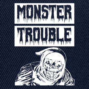 Monster TROUBLE - Snapback Cap