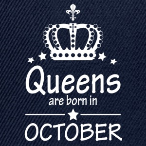 Queens are born in October - Snapback Cap