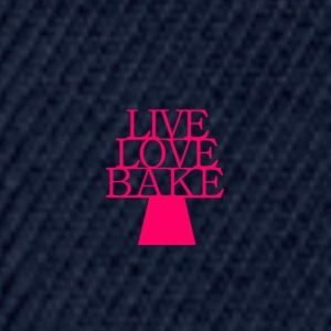 LiveLoveBake2 - Snapback-caps