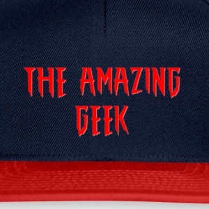 The Amazing Geek - Snapback Cap