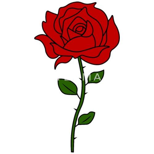 2d3993fb750d3 Rose Flowers Tumblr - Men s Premium Tank Top. Front. Back. Design