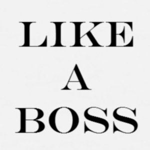 like a boss - Mannen Premium tank top
