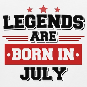 Legend are born in July! - Männer Premium Tank Top